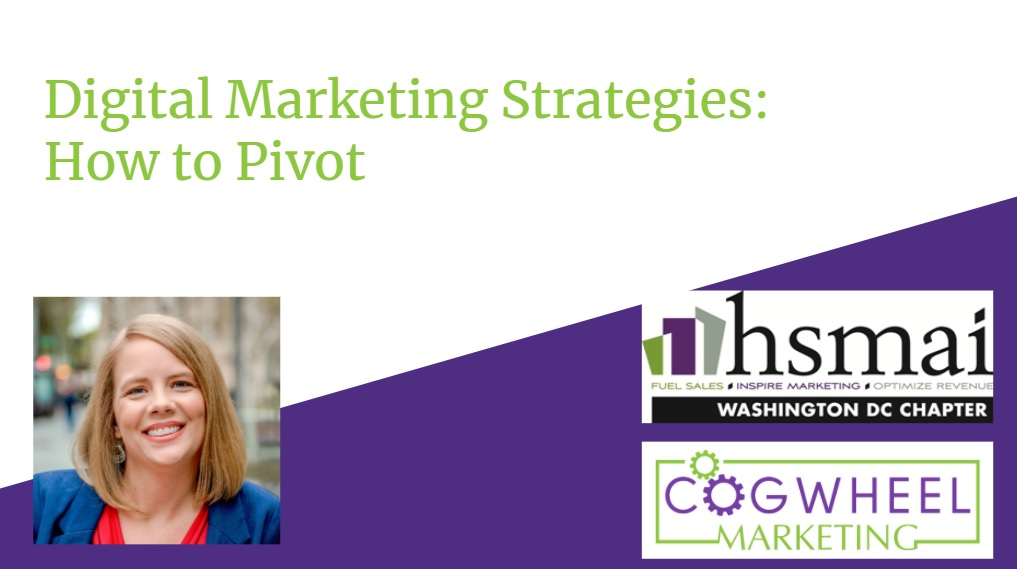 HSMAI DC State of the Union: Digital Marketing How to Pivot